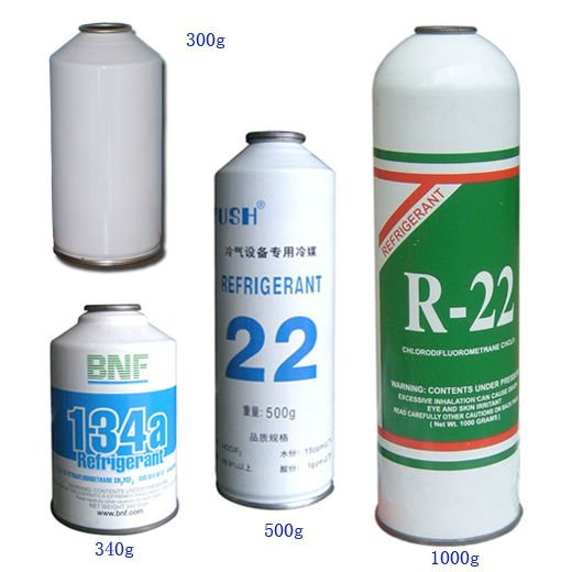 Refrigerant r22,r134a Can Packing